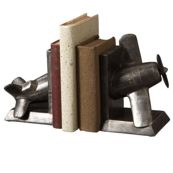 Vintage Airplane Bookends - $52.00 : Enchanted Cottage Shop, For Gifts Antiques Reproductions Collectables and Home Decor.