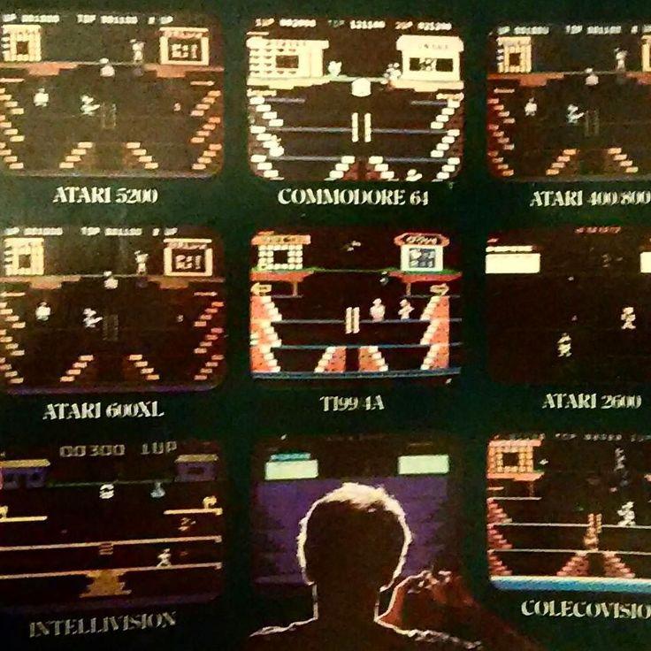 On instagram by komessiah #intellivision #microhobbit (o) http://ift.tt/2eTVkZX original console wars! #consolewars #atari2600 #coleco  #commodore64  #comicads #advertising #advert #popeye #atari #80s #80skid #classicgaming
