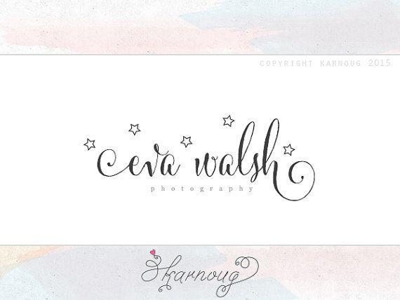 Custom, Premade, Modern, Stars, Colourful, Candy, Boutique, Kids, Newborn, Photography Logo Design