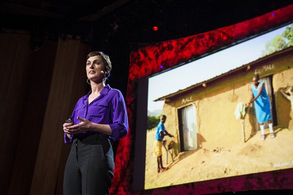 Talking s**t with Rose George: A Q about the global health issue no one wants to bring up. Video of TED talk about toilets & health.