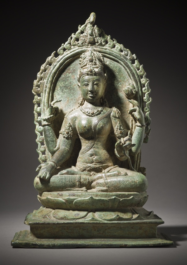 Tara, Indonesia, Central Java, late 9th c.Bronze.