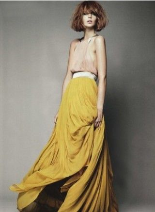 : Black Ties, Maxi Dresses, Colors Combos, Diy Fashion, Long Skirts, Yellow Skirts, The Dresses, Mustard Yellow, Maxi Skirts