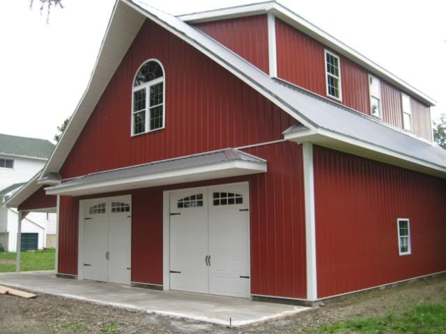New build 36 x 50 garage hot rod shop page 8 the for Design your own pole barn online