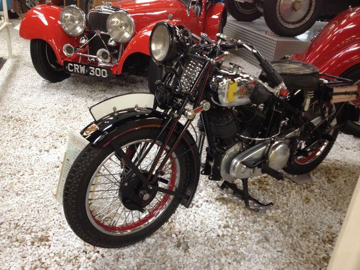 Tornax Jap Motorcycle, Sinsheim Museum, Germany