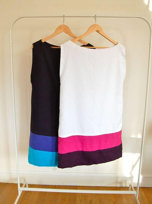 robe burda addicts magazine patron couture facile printemps été 2012 summer spring dress sewing pattern easy faut changer les couleurs!!!