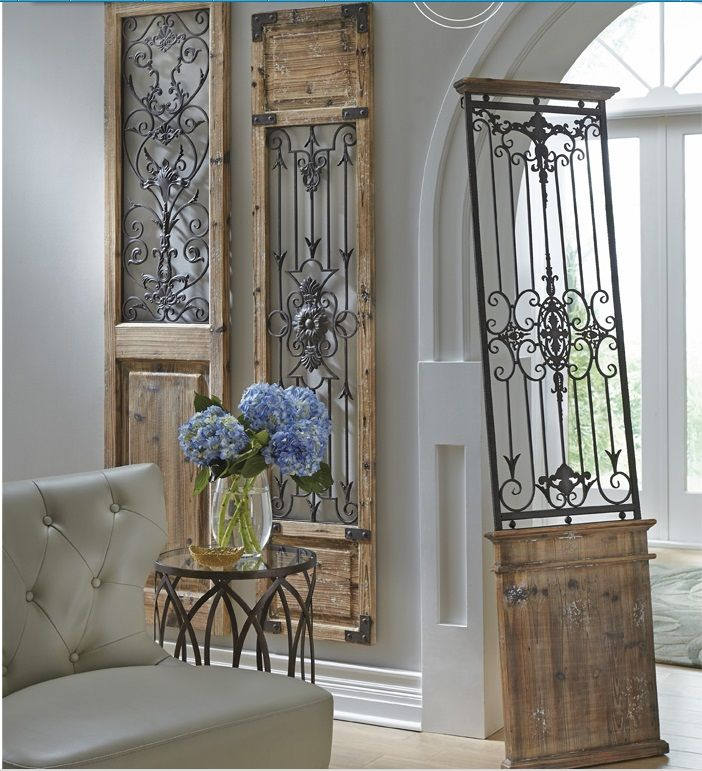 Discount Home Decor Catalogs: Gate Wall Decor @Grandin Road