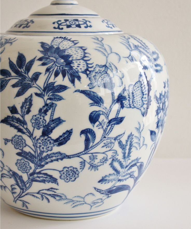 Blue & White Porcelain Ginger Jars