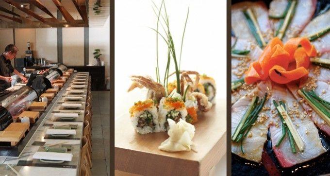 Sushi-e Japanese sushi bar, Establishment Hotel level 4