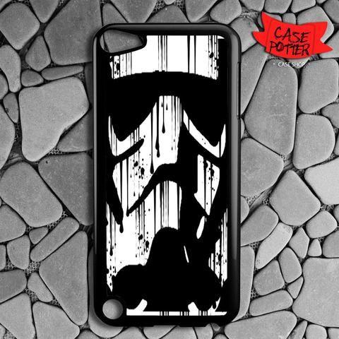 Black White Storm Trooper iPod 5 Black Case