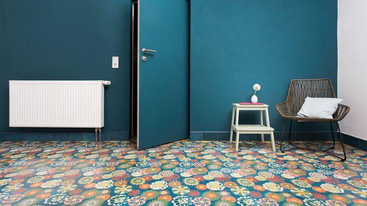 VIA: Mosaikfliesen, Zementfliesen, Kreidefarbe, Terrazzoplatten