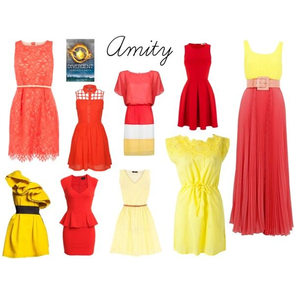 """Amity Faction from Divergent by Veronica Roth"" by sash-and-em on Polyvore"