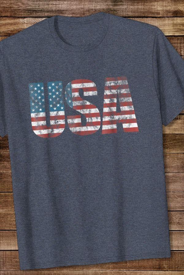 Comical Shirt Mens Pinup Girl American Flag Sweatshirt