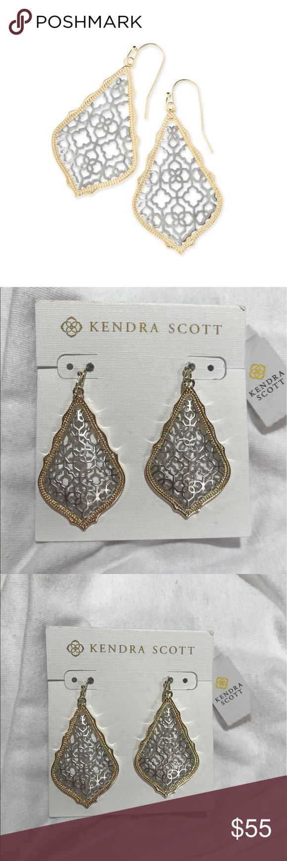KENDRA SCOTT brand new addie earrings + box!!! KENDRA SCOTT brand new addie earrings + box!!! Kendra Scott Jewelry Earrings