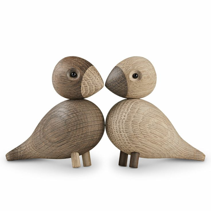 Kay Bojesen Lovebirds 2stk, Rosendahl