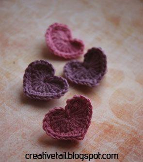 Det er snart Valentines dag (d. 14) - det er ikke noget jeg går op i, men det er en god undskyldning for at lave en masse med kreativt hjert...