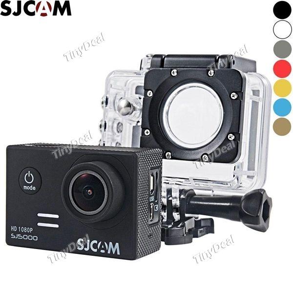 "Original SJCAM SJ5000 NTK96655 2\"" Screen 14MP 1080P FHD 170° Wide Angle Lens Waterproof Diving Sports Camera ECM-377448"
