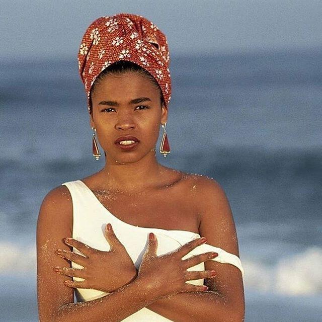Because it's Wednesday, Nia is a principle of Kwanzaa and black women.... #wcw #nialongbeenlit #blackgirlmagic #headwraps #badderthanatwoyearold #thesablecollective