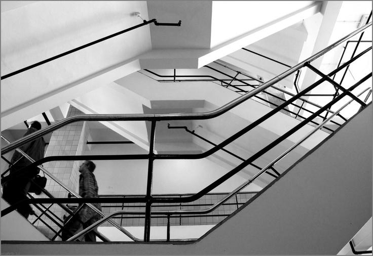 van Nelle fabriek, trappenhuis