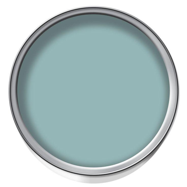Dulux Silk 2 5l Blue Reflection Walls For Bathroom