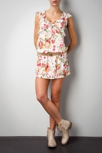 Printed dress Gaudi - WOMAN - COLLECTIONS - NEW ARRIVALS MAY SPRING/SUMMER