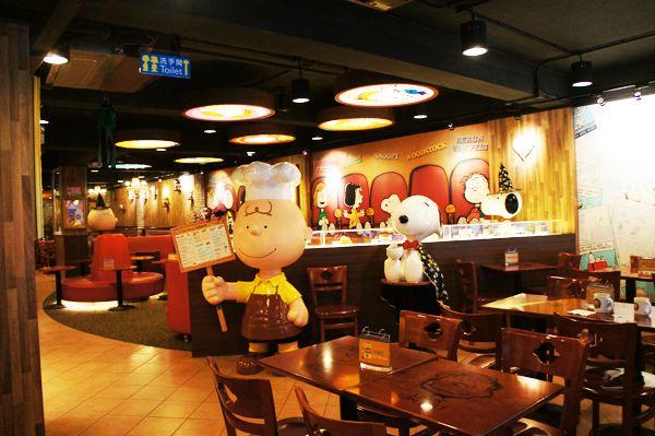 Charlie Brown Cafe Hong Kong