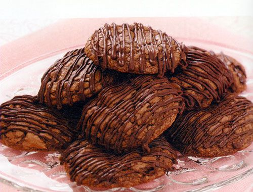 Triple-Chocolate Brownie Cookies Recipe -- Read more reviews of the recipe by visiting the link on the image.