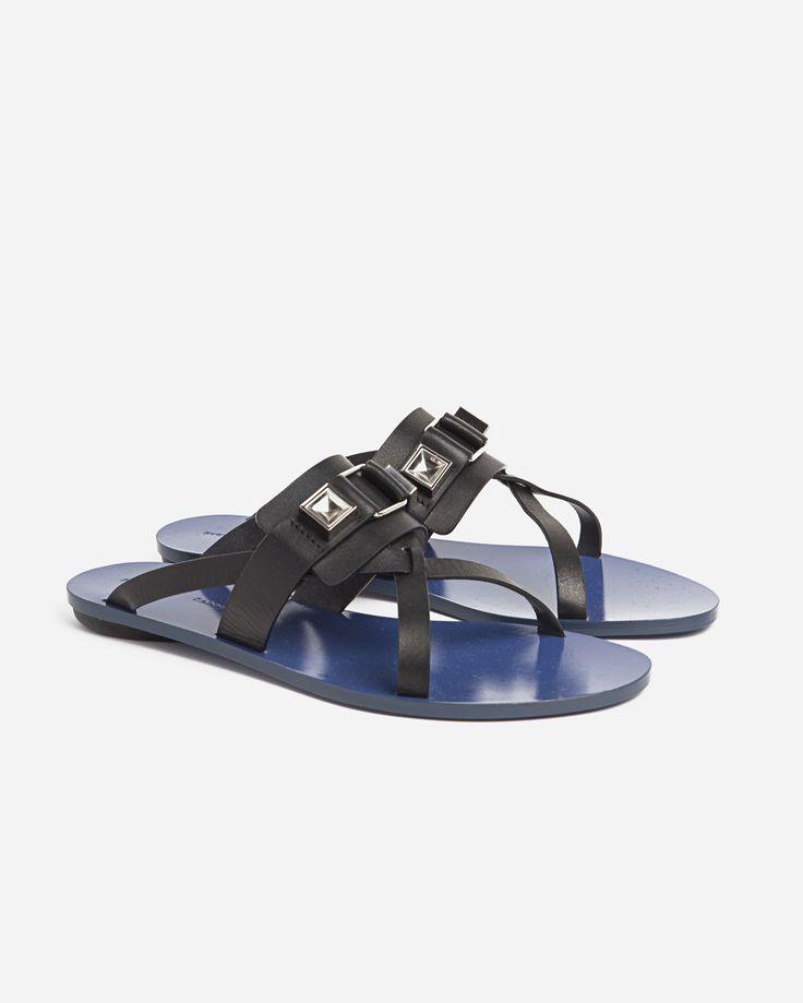 Proenza Schouler Flat Sandals PS 11 Detailing