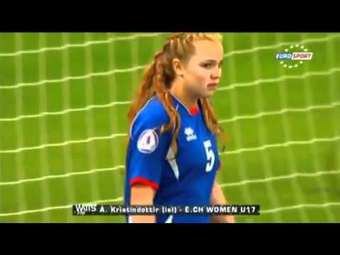The worst female goalkeeper ever.  So sad that I laughed at this.