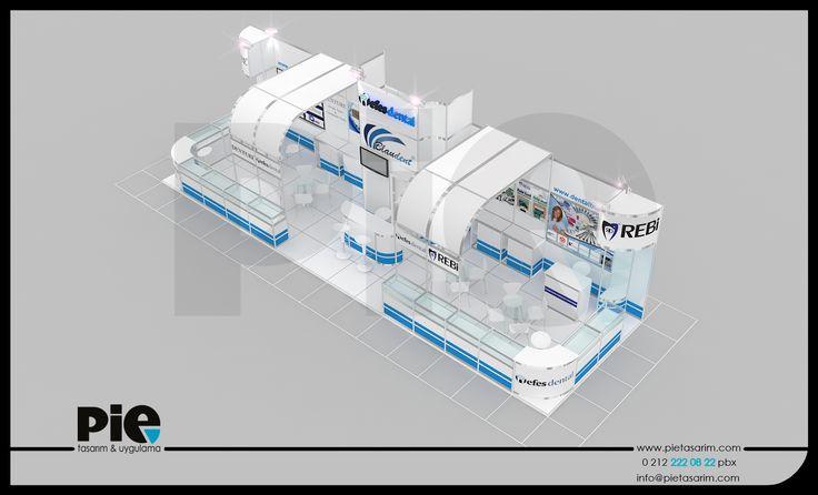 İdex Fuarı ''EFES DENTAL'' Stand Tasarımımız