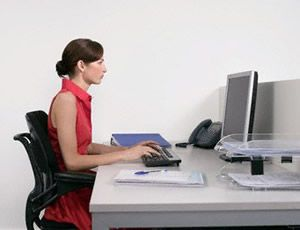Majority of computer users are reported to have complained of back pains, stiff neck, eye strain and other forms of physical discomfort because of spending so much time in front of PC's.