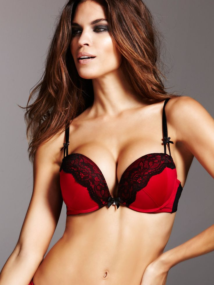 Triple Boost Redblack Plunge Bra - Buy Online At Ann -5025