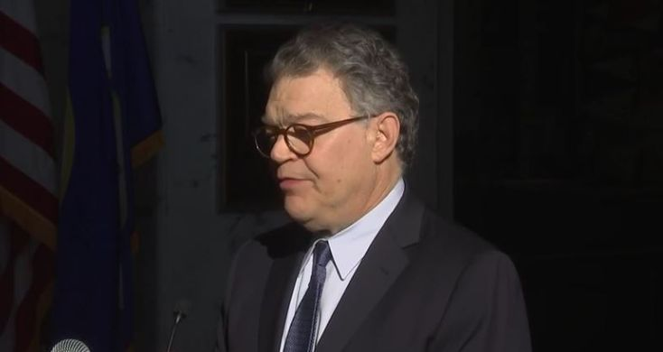 A Shaken And Contrite Al Franken's Decency Shines Through At Sexual Harassment Press Conference