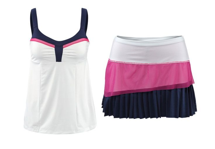 #Tennis #Skirt #Outfit #Racquetball SOOOO cute!Ladylike Style, Future Closets