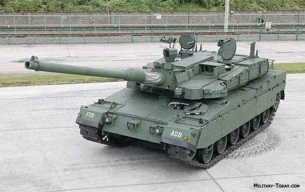 K2 Black Panther, South Korean MBT.
