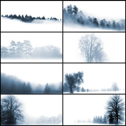 45 Useful Sets of Photoshop Tree Brushes