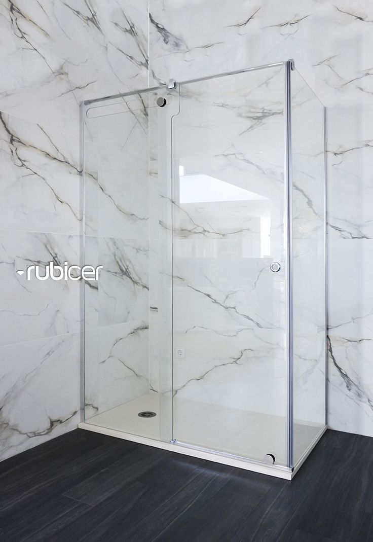 An ecologic solution! Rubicer's shower screen with anti-calc treatment.  #victrum #resguardo #anticalcario #higiene #limpeza #eco #interiordesign #bath #water #glas #design