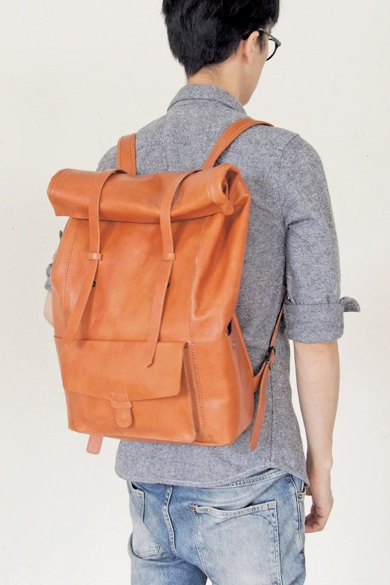 30% off Personalized Backpack - Leather - Harlex Hand Stitched