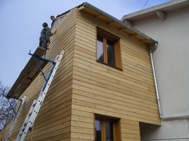 63 best bardage clin bois images on Pinterest Wood facade, Cement