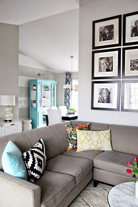 Deco: inspiración en sofás grises                                                                                                                                                      Más