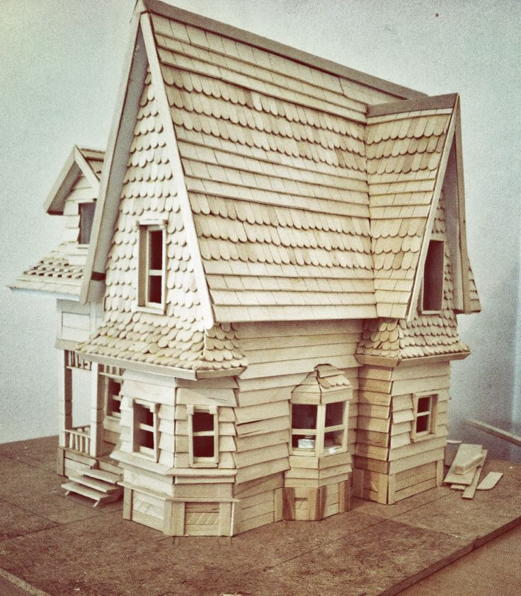 Casa up maqueta hobbys proyecto house up pixar disney - Maqueta casa up ...