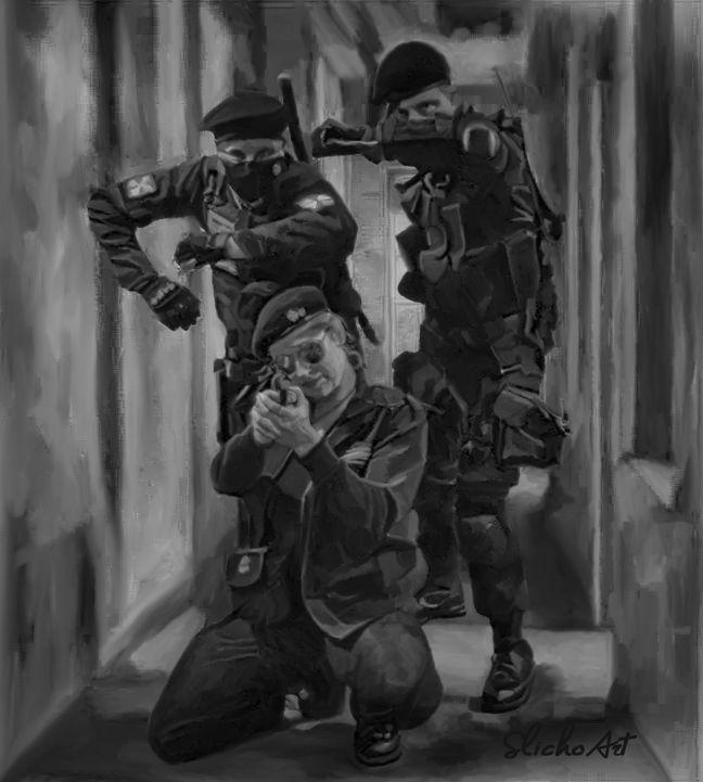 Resident Evil Cosplay painting by SlichoArt on DeviantArt