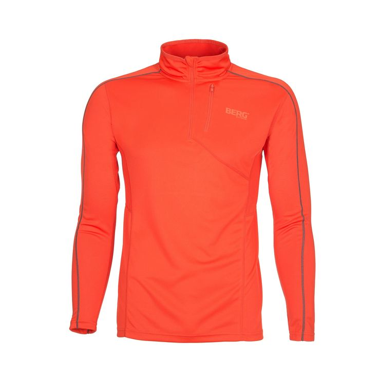 Half-zip base-layer with fast dry components and highly breathable for outdoor activities where you'll spend a lot of energy.