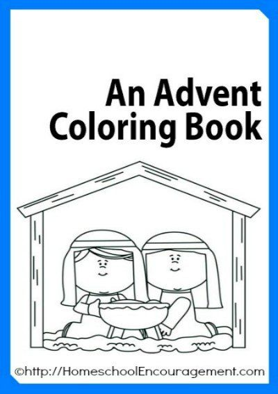 Catholic Coloring Pages For Kindergarten : Amazingly simple catholic advent crafts for kids