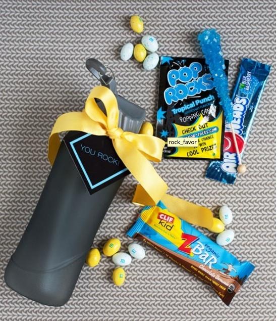 Great rock climbing party favors/goody bag