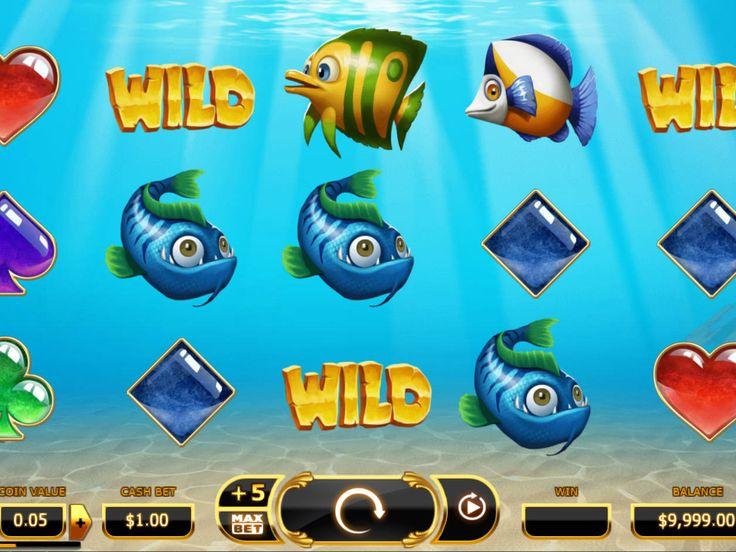 Drehe jetzt kostenlos online Spielautomat Golden Fish Tank - http://spielautomaten7.com/golden-fish-tank/