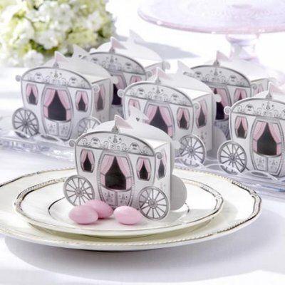 Petit carrosse bijoux de table