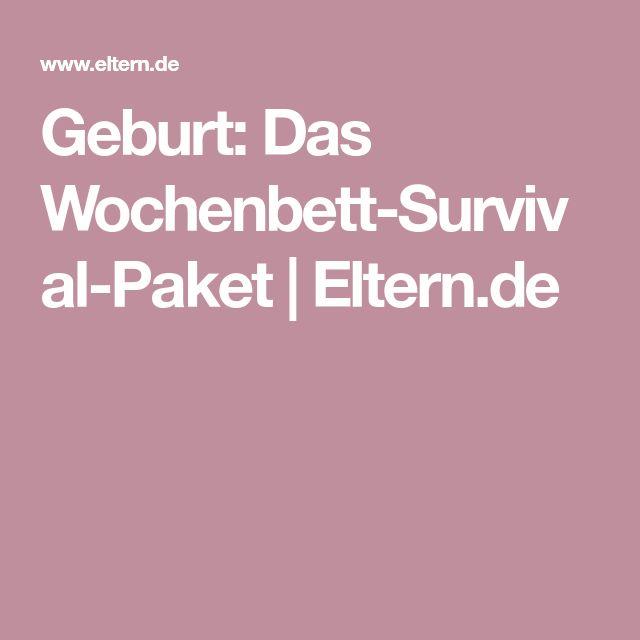 Geburt: Das Wochenbett-Survival-Paket   Eltern.de