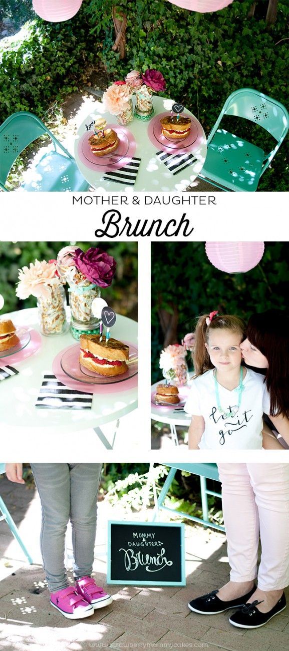 Mother and Daughter Brunch Date / such a sweet idea!