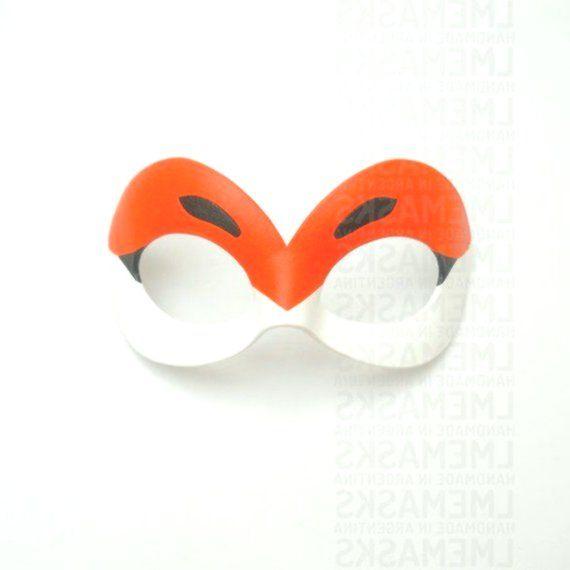 Rena Rouge Leather Mask Miraculous Ladybug Cosplay Domino Cartoon