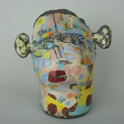 """""""sculptural, figurative, painterly and expressive"""" - Mary Jones"""